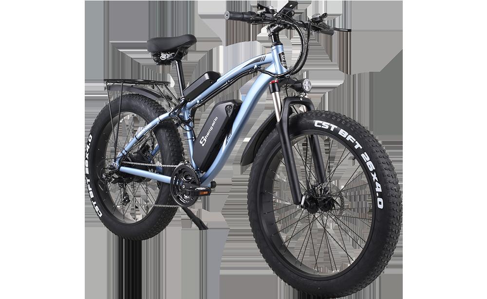 Shengmilo-MX02S-Blue-Electric-Folding-Bike-shengmilo-offical-store-online-ebike-shop